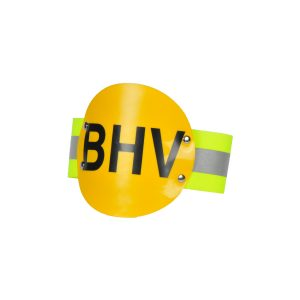 Reflekterende Armband Met Schild Opdruk BHV